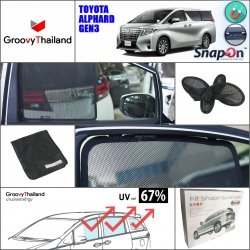 TOYOTA ALPHARD Gen3 2015-Now (SnapOn - 8 pcs)