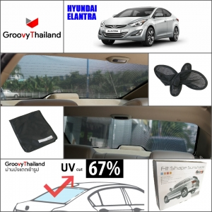 HYUNDAI ELANTRA 2010~Now R-row (1 pcs)