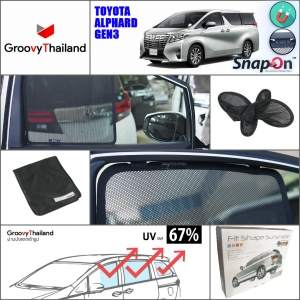 TOYOTA ALPHARD Gen3 2015-Now A-row (SnapOn - 2 pcs)