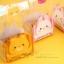 ถุงเบเกอรี่ ถุงขนม ถุงจีบข้าง 100 ใบ/ห่อ (กระดาษรูปหมีรองด้านใน) 8.5+6*23cm thumbnail 1