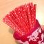 ลวดมัดปากถุง สีแดง I LOVE U บรรจุ 1,000 ชิ้น/ห่อ thumbnail 1