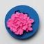 โมล พิมพ์ซิลิโคน รูปดอกไม้ ไซส์เล็ก (พิมพ์ 2 มิติ) thumbnail 2