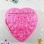 พิมพ์วุ้น สองชั้นรูปหัวใจ ลายดอกไม้ เบอร์ 5 thumbnail 1