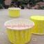 ถ้วยคัพเค้กเคลือบ ม้วนขอบ 3.8*3*5cm (3830) thumbnail 1