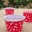 ถ้วยคัพเค้กเคลือบ ม้วนขอบ 4.4*3.5*5.6cm (4435) thumbnail 1