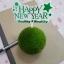 ป้ายพลาสติก Happy New Year สีเขียว (ราคา/ชิ้น) thumbnail 1