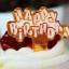 ป้ายพลาสติก Happy Birth Day สีส้ม (ราคา/ชิ้น) thumbnail 1