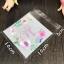 ถุงเบเกอรี่ ถุงขนมปัง แบบมีเทปกาว Thank You 100 ใบ/ห่อ (10*10+3 cm.) thumbnail 2