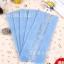 ถุงเบเกอรี่ ถุงขนม แบบพับข้างสีฟ้า 100 ใบ/ห่อ thumbnail 2