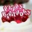 ป้ายพลาสติก Happy Birth Day สีแดง (ราคา/ชิ้น) thumbnail 1