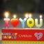 เทียนตกแต่งเค้ก I Love You (ราคา/ชิ้น) thumbnail 2