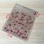 ถุงเบเกอรี่ ถุงขนมปัง แบบมีเทปกาว รูปหัวใจ 100 ใบ/ห่อ (10*10+3 cm.) thumbnail 2