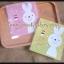 ถุงเบเกอรี่ ถุงขนมปัง แบบมีเทปกาว รูปกระต่ายสีเบส 100 ใบ/ห่อ (10*10+3 cm.) thumbnail 3