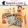(6 แผ่น/ชุด) สติ๊กเกอร์ Gaspard et Lisa