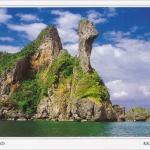 โปสการ์ด เกาะไก่ จังหวัดกระบี่ /ทะเล/เกาะ