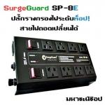 SurgeGuard SP-8E เครื่องกรองไฟระดับท็อป สำหรับทีวี เครื่องเสียง โฮมเธียร์เตอร์ (สอบถามราคาพิเศษผ่านไลน์)