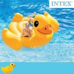 Intex Yellow Duck Ride-on แพยางเป็ดตัวใหญ่ แถมสูบลม ส่งฟรี kerry!!