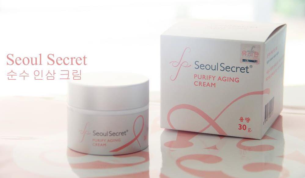 ครีมโซลซีเครท Seoul Secret Purify Aging Cream